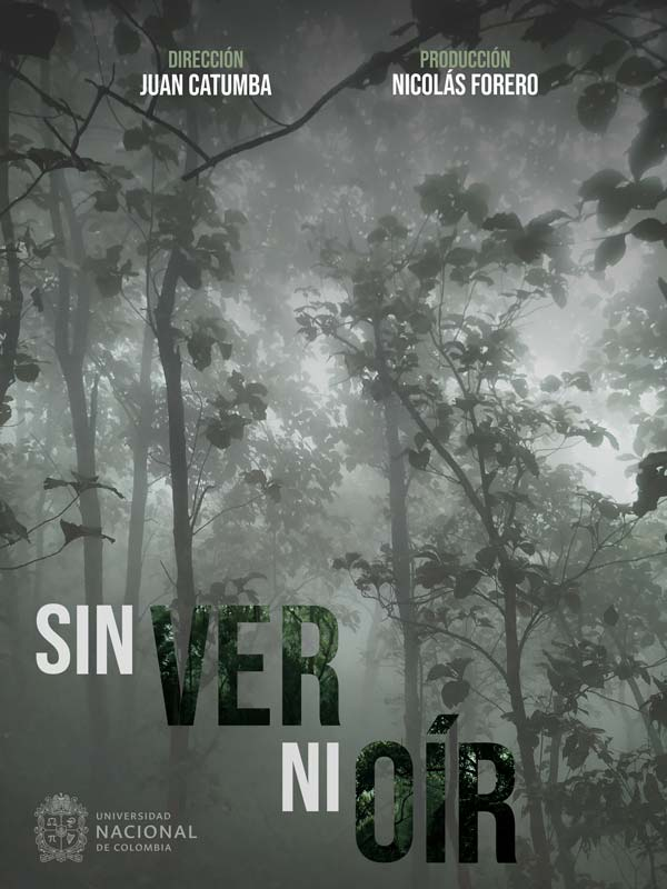 Poster Sin ver ni oir